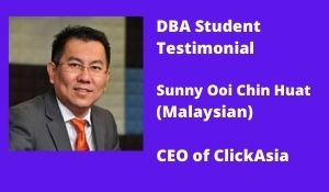Student Testimonial-Sunny Ooi Chin Huat (Malaysian)